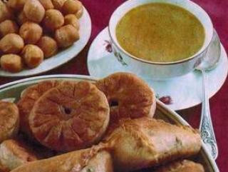 Участницы представили на суд жюри в основном блюда татарской национальной кухни