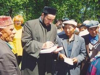 Муфтий Ростовской области Флюр Арсланов на встрече с мусульманами