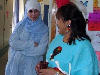 В санатории проходят лечение мусульмане в соответствии с трбованиями шариата