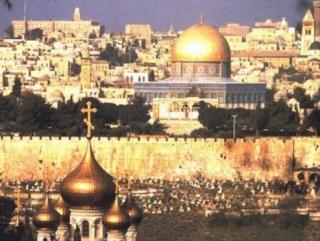Иерусалим святой для монотеистических религий город