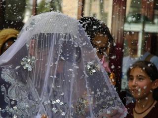 Обряд выплаты калыма семье невесты