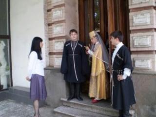 Традиции и современность переплетаются на Кавказе