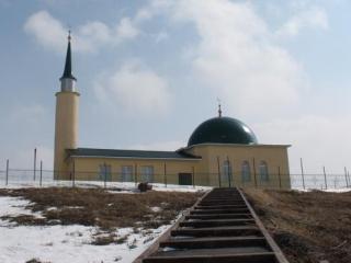 """Мечеть шахтеров """"Сажда"""" под космическим куполом"""