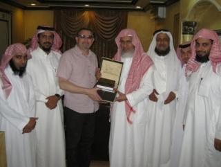 Ректор РИУ в рамках своего визита в Саудовскую Аравию встретился с видными исламскими деятелями