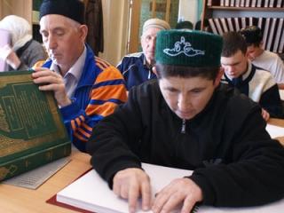 На протяжении Рамадана в мечети Сулейман в Казани будут проходить куры для незрячих