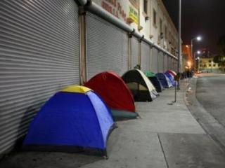 За последний год число бездомных в Нью-Йорке увеличилось на 20%