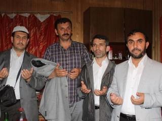 Турецкие имамы (слева направо): Билал Аслани , Неджати Айдениз, Сейфетдин Яйла, Махмуд Бирджан
