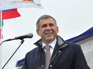 Президент Татарстана открыл свинокомплекс в Набережных Челнах