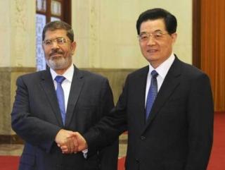Мурси заключил с Китаем восемь договоров