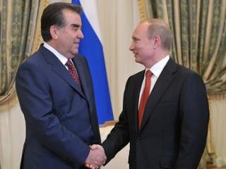 Президент России поздравил Президента Таджикистана