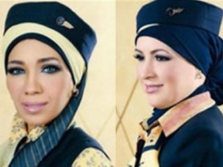 Египетские авиалинии надели хиджаб