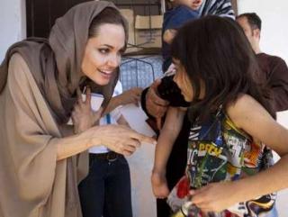 Жители Ливана приятно удивили Анджелину Джоли