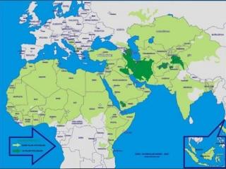 Исламский мир между Западом и Востоком