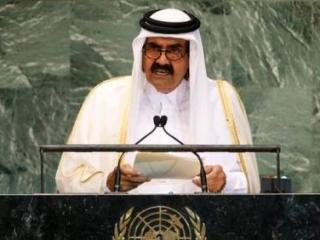 Эмир Катара призвал арабов включиться в сирийскую войну