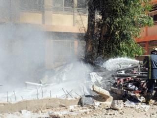 В Дамаске повстанцы взорвали Генштаб