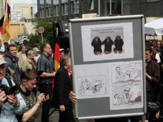 Немецкие националисты вновь решили пропиариться на мусульманах