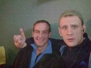 Сайфуллах (Андрей) Лозин (справа) с новым мусульманином Саидом (Вячеславом) Азановым