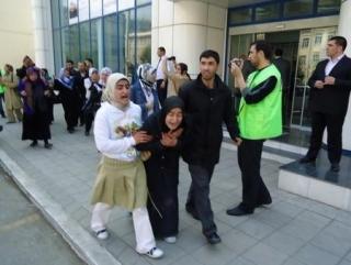 В Баку митингуют за хиджаб