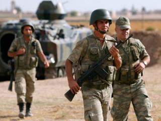 Турция возобновила огонь по Сирии