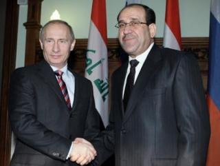Путин встретится с Премьер-министром Ирака Нури аль-Малики