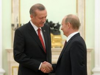 Эрдоган поздравил Путина с юбилеем