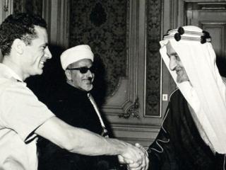 Каддафи душевнобольной – король Фейсал