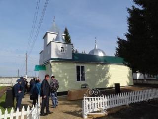 В колонии Мордовии торжественно открыли мечеть. Фото
