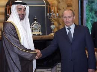 Путин обсудит с принцем Абу-Даби двустороннее сотрудничество