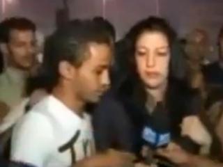 Журналистка пожаловалась на манифистантов-насильников в Каире