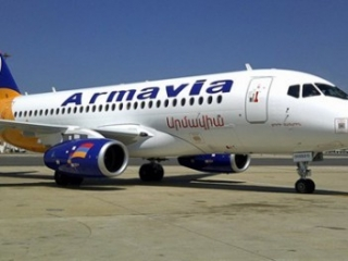 В Турции посажен для досмотра очередной армянский самолет