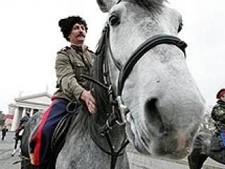 Казачья полиция выходит на улицы Москвы