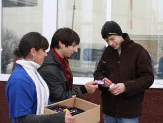 В Казани предлагают обменять сигарету на конфету