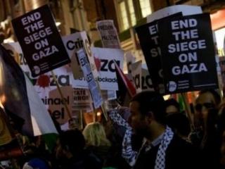 В США протестуют против израильской операции в Газе