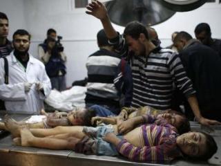 Среди погибших сто стороны палестинцев много детей