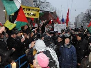24 ноября в Москве состоится митинг в поддержку палестинцев