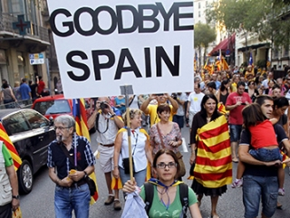 Каталонцы готовятся к объявлению независимости от Испании