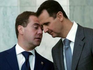 Медведев объяснил, зачем Россия поставляет Асаду оружие
