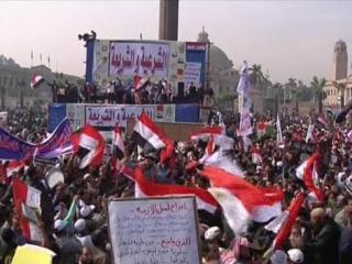 Более миллиона египтян вышли поддержать президента