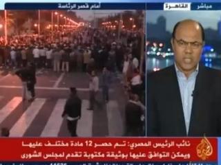 Сторонники Мурси растворили его противников