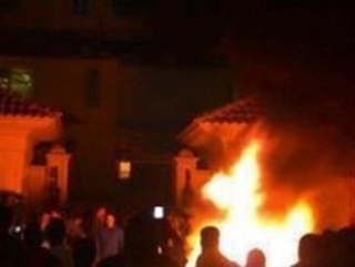В Каире протестующие сожгли штаб-квартиру «Братьев-мусульман»