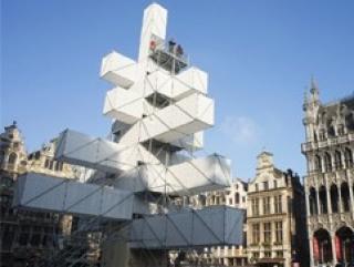 Бельгийские христиане обиделись на мусульман и инновационную елку