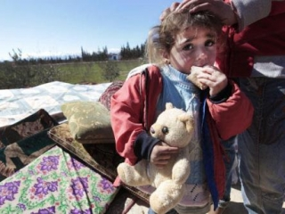 Число сирийских беженцев перевалило за 500 тыс человек