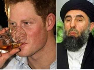 Хекматиар назвал британского принца «пьяным шакалом»