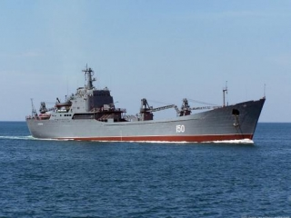 Россия направила в Сирию корабль с десантом