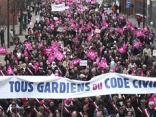 В демонстрации принимают участие люди со всей страны