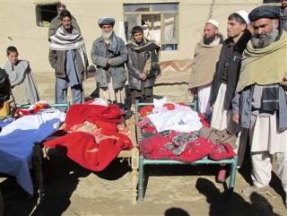 Жертвами атаки мечети стали как минимум 15 мирных афганцев