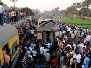 Десятки погибших и раненных при крушении поезда в Египте
