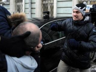 В Москве подрались сторонники и противники гей-пропаганды