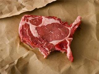 Россия отказалась от американского мяса