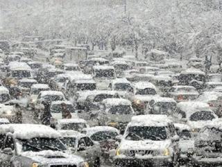 Погода отправила Москву в нокаут